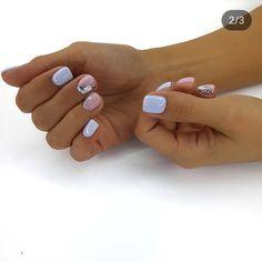 Nails gel, we adopt or not? - My Nails Nails gel, we adopt or not? - My Nails Love Nails, Fun Nails, Style Nails, Graduation Nails, Short Gel Nails, Pin On, Spring Nail Colors, Gel Manicure, Shellac