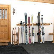 Garage Ski Storage (DIY or prebuilt) Big Bear Cabin, Ski Rack, Garage Makeover, Cabin Furniture, Barbie Dream House, Ski And Snowboard, Diy Storage, Mudroom, Home Organization