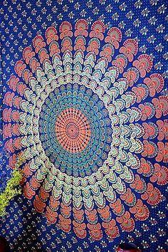 Mandala Tapestry Wall Hanging Home Decor by tapestryindia