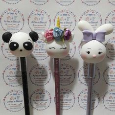 1 million+ Stunning Free Images to Use Anywhere Polymer Clay Pens, Polymer Clay Charms, Polymer Clay Projects, Diy Clay, Clay Crafts, Diy And Crafts, Clay Mugs, Cute School Supplies, Cute Clay