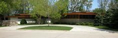 This is the inspiration for the dream house we are building - Frank Lloyd Wright's Alvin Miller house