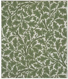 Oak Tree Wallpaper | Dearle, John Henry | Victoria  Albert Museum