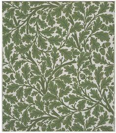 Oak Tree Wallpaper | Dearle, John Henry | Victoria Albert Museum