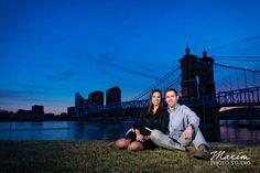 Smale Riverfront Park Cincinnati Engagement