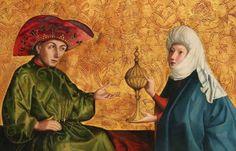 Konrad Witz – Salomón y la Reina de Saba (1435)