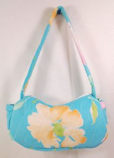 Quilted Spring Handbag, Easter Purse Accessory - pinned by pin4etsy.com