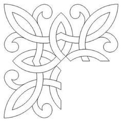 Wood Carving Designs, Wood Carving Patterns, Wood Patterns, Quilt Patterns, Zentangle Patterns, Celtic Symbols, Celtic Art, Celtic Knots, Celtic Mandala