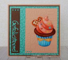 Cupcake kaart / Cupcake card