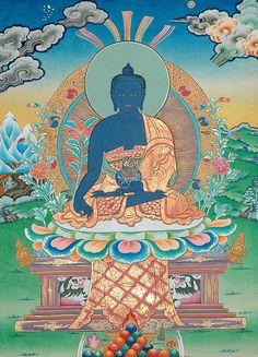 Buda Azul de la Medicina (Bhaisajyaguru) se asocia a la salud, Y su Mantra es: Tayata Om Bekandse Bekandse Maha Bekandse Bekandse Randsa Samud Gate Soha #fengshui #budaazul #buddhism #asia #america #energy #health #spring #april #13 #caracas #venezuela #2014 #fsve168
