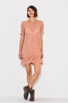 Urban Threads Veda Mini Dress- Removable Slip