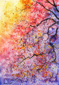 Watercolor Painting by Anna Armona
