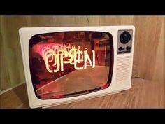 1970s Neon Infinity Television