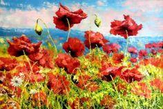 Poppies by Skobeleva Liliya