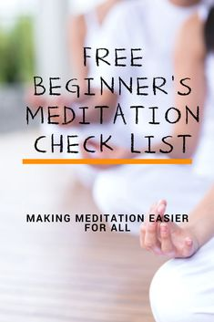 Amazing tips to help you begin and stick to meditation!
