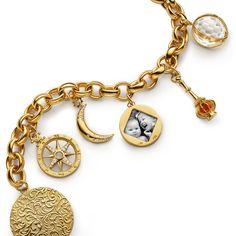 What story does your charm bracelet tell? @monicarichkosann #marilynlink  #carpediem #travel #monicarichkosann  Nagi's note: Passing special moments captured, down to the next #generation!