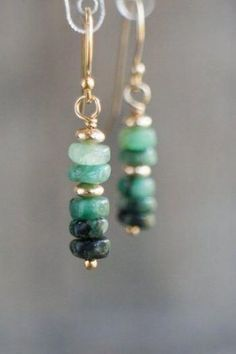 For Sale: Raw Emerald Earrings Emerald Dangle Earrings Green. - - Raw Emerald Earrings, Emerald Dangle Earrings, Green Drop Earrings, Gemstone Dangling Earrings, May Birthstone Jewelry Gifts For Her. Emerald Earrings, Gemstone Earrings, Beaded Earrings, Earrings Handmade, Silver Earrings, Silver Jewelry, Stud Earrings, Silver Ring, Diamond Jewelry