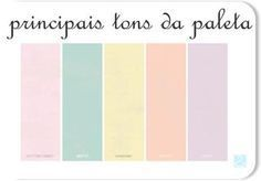Paleta de Cores da festa: Candy Colors, sendo rosa, azul(tipo menta), amarelo e cinza. Pastel Decor, Pastel Colors, Pastel Shades, Colorful Candy, Candy Colors, Colour Pallette, Design Seeds, Vintage Party, Candy Party
