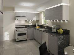 Duplexes at Burnaby - modern - kitchen cabinets - vancouver - European Kitchen Art