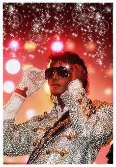 MJ, classic Thriller era, Victory Tour.  I attended this concert in Kansas City in 1983. An unforgettable part of my life.