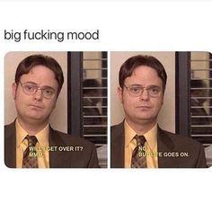 Funny Memes The Office Lol 45 Ideas Office Jokes, Funny Office Quotes, Quotes From The Office, Best Office Quotes, The Office Show, The Office Dwight, Parks N Rec, It Goes On, Jokes