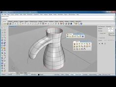 Clayoo: Clay modeling for Rhino. Promissing plugin.