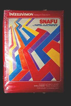 Intellivision Snafu- I can still hear the shuffling sounds of this game. Vintage Video Games, Vintage Games, Visual Effects, Some Pictures, Fun Games, Nostalgia, Childhood, Memories, Ebay