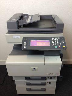 Konica Minolta Bizhub C350 Copier Printer Scanner