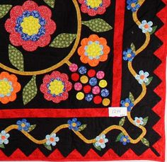 Hand Applique Cox Combe FINISHED QUILT - The Best of the Best