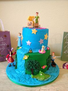 Peter Pan 3rd Birthday Cake