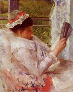1878  La lectrice huile sur toile Collection privée