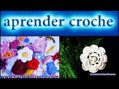 #FLORES EM #CROCHE #ROSETAS EM CROCHE   016