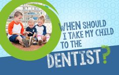 When should I take my child to the dentist? Dental Kids, Pediatric Dentist, First Tooth, Take My, Pediatrics, Dentistry, My Children, Your Child, First Birthdays