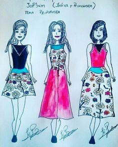Mini coleção Jo'Prim ( Primavera- vamos florescer 🌷🍀)  3 looks ( básico/fashion/vanguarda)