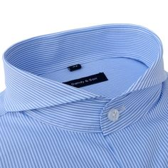 Shirts - Extreme Cutaway Striped Shirt