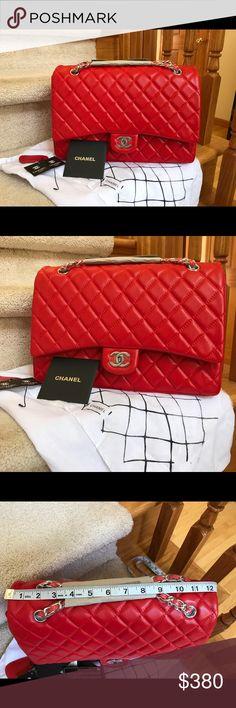 Brand new Jumbo Beautiful Jumbo Bag! Not Authentic CHANEL Bags Shoulder Bags