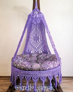 Small Accent Chairs For Living Room Macrame Hanging Chair, Macrame Chairs, Hanging Swing Chair, Macrame Wall Hanging Patterns, Swinging Chair, Macrame Patterns, Swing Chairs, Carpet Crochet, Macrame Toran