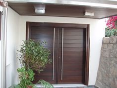 modern white wooden doors - Google Search