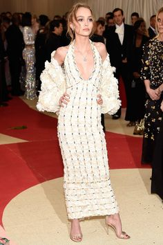 Lily-Rose Melody Depp in Chanel - 2016 Met Gala