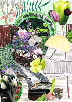 Maria Forssell, www.paradisdesign.se Garden Design, Student, Projects, Painting, Art, Log Projects, Art Background, Painting Art, Kunst