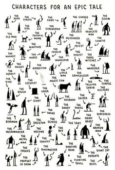 characters for an epic tale