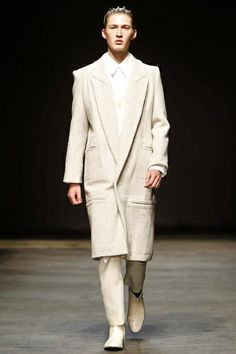 Man Menswear Fall Winter 2014 London - NOWFASHION