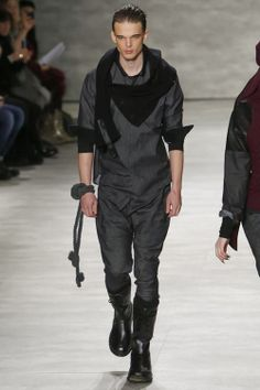 l-homme-que-je-suis:  Andre Bona | Nicholas K Fall/Winter 2014 | New York Fashion Week