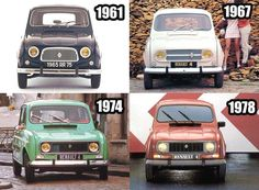 Renault 4 1961 1992 the duck for proper minded individuals Carros Suv, Renault Sport, Vw Vintage, Top Cars, Fiat 500, Mobile Marketing, Car Car, Motor Car, Peugeot