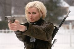 "Samantha Caine/Charlene Elizabeth ""Charly"" Baltimore, The Long Kiss Goodnight (1996)."
