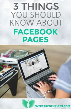 3 Things every business woman should know about using Facebook pages. #socialmedia #womeninbusiness #business #facebook #facebookpages #social #success #entrepreneur #entrepreneuress