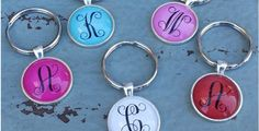 Initial Key Chains!
