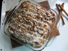 Overnight Cinnamon Roll French Toast Casserole | The official blog of America's favorite frozen dough