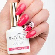 Color Gel Polish Indigo Nails Lab #gelpolish #raspberrygirl #loveindigonails #nailart #torino #nailartist #indigonailspiemonte #indigonails #colorful