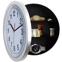 Illusion Hidden Safe Wall Clock // 10 MOST Creative Clocks That You've Never Seen
