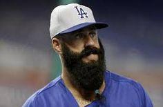 brian wilson dodgers beard - Google Search.. The best beard. Ever. Period.
